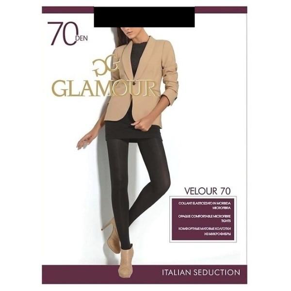 Колготки Glamour Velour 70den nero 4