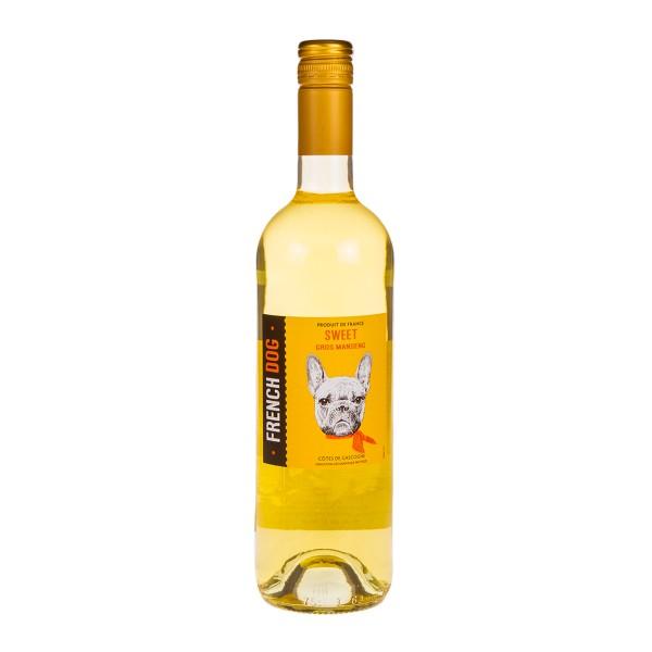 Вино белое полусладкое French Dog Gros Manseng 11-12% 0,75л