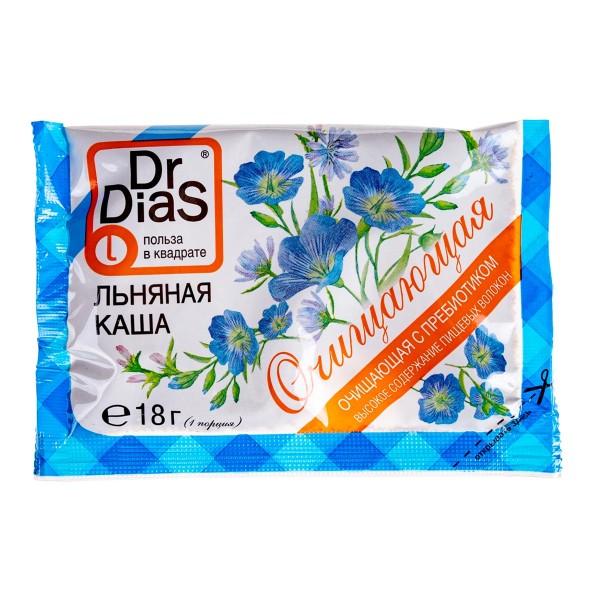 Каша льняная очищающая Dr.Dias 18г