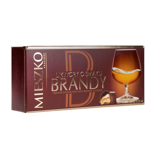 Конфеты шоколадные Brandy Mieszko180гр
