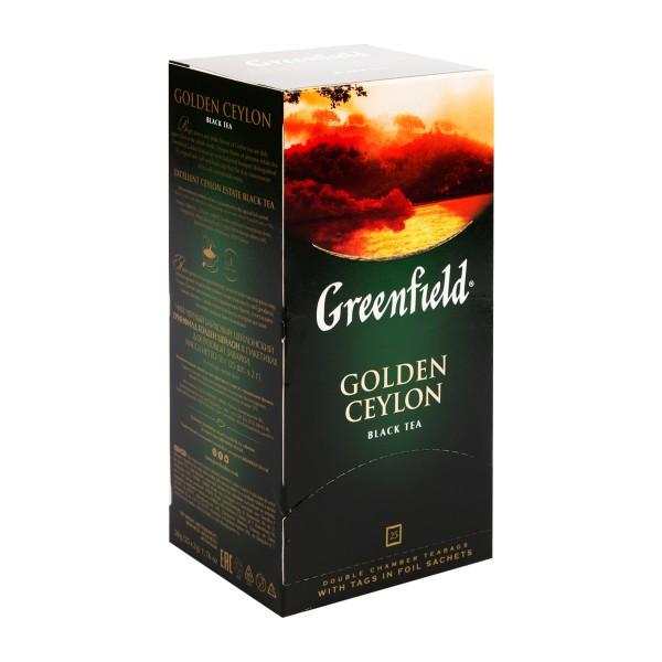 Чай черный Greenfield Golden Ceylon 25пак