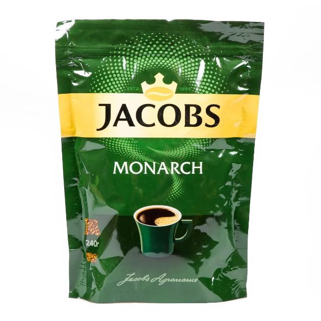 Кофе растворимый Jacobs Monarch 240гр
