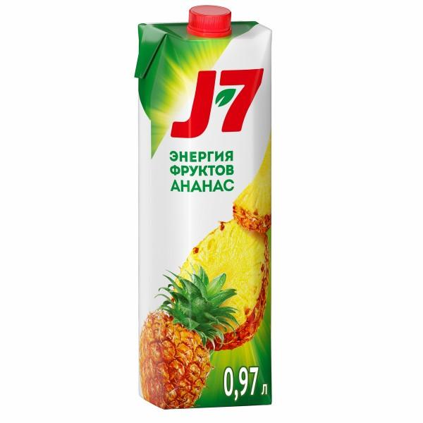 Нектар J-7 0,97л ананас