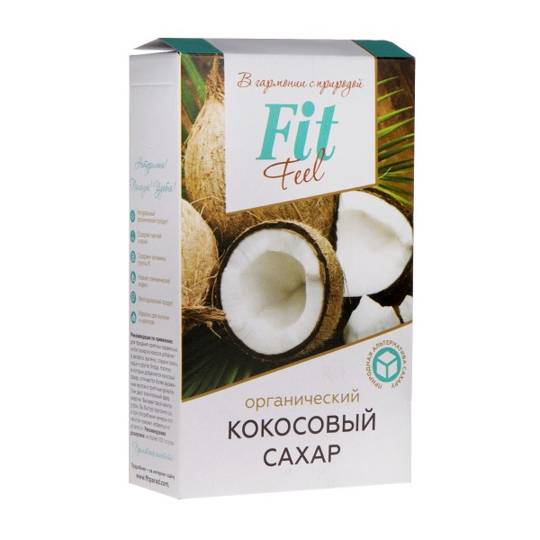 Сахар кокосовый Fit Feel Питэко 200гр