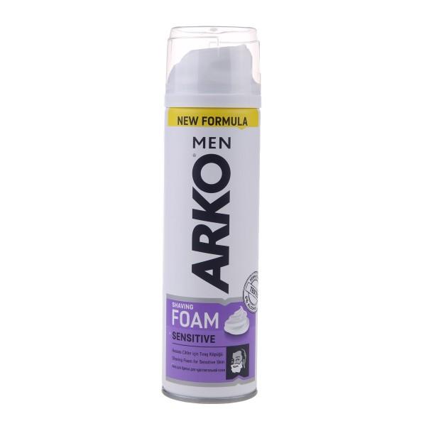 Пена для бритья Arko Men 200мл sensitive