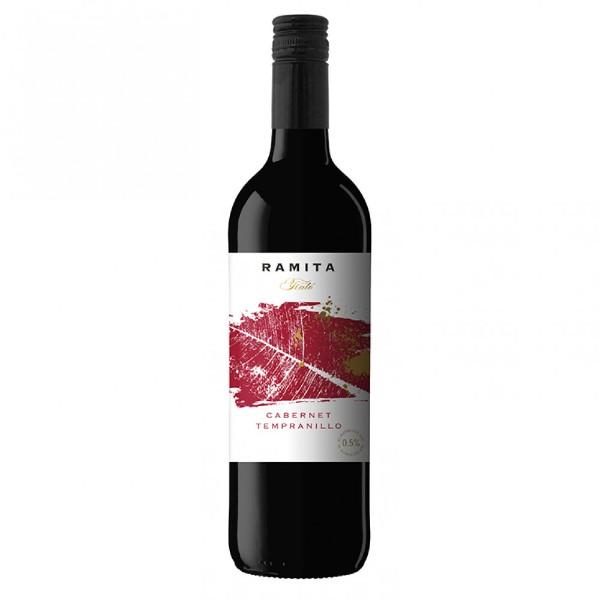 Вино безалкогольное красное сухое Ramita Cabernet Tempranillo 0,75л
