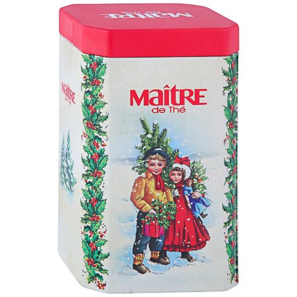 Чай черный листовой Maitre Винтажная открытка 90г