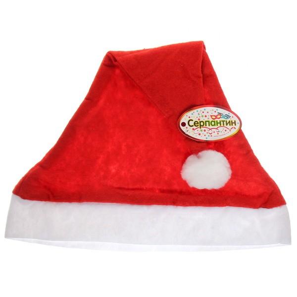 Колпак Деда Мороза Серпантин