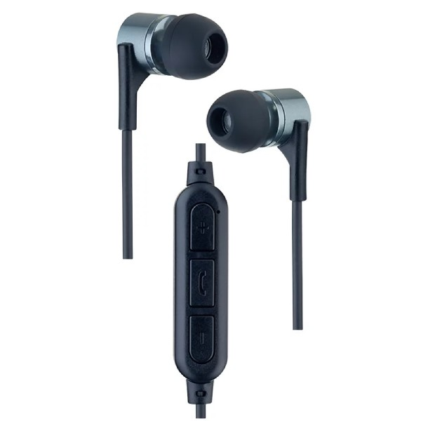 Наушники внутриканальные YO Perfeo с микрофоном чёрные