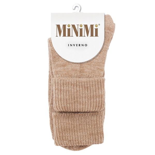 Носки женские Inverno шерсть Minimi beige