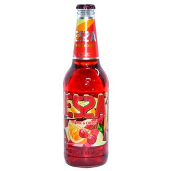 Напиток пивной со вкусом апельсина и вишни Еssa 6,5% 0,45л