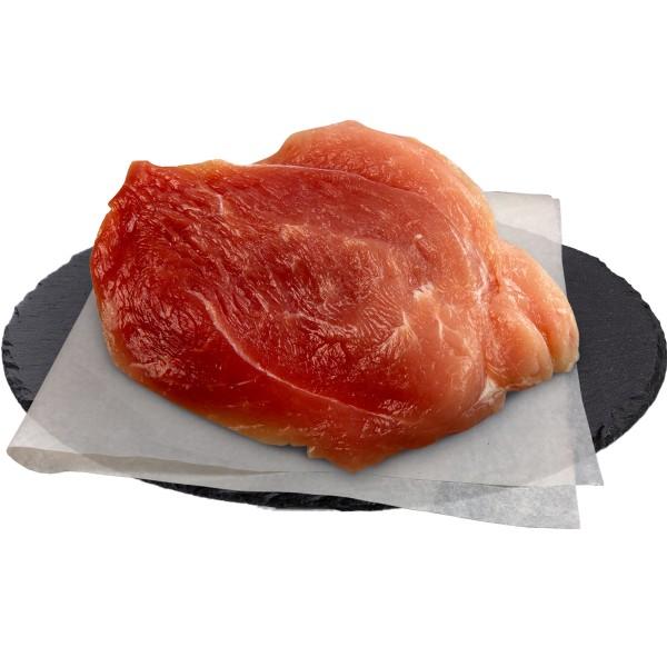 Шницель натуральный из свинины охлажденный в упаковке производство Макси