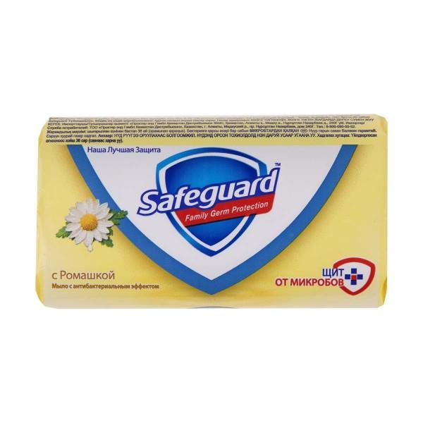 Мыло туалетное Safeguard 90гр с ромашкой
