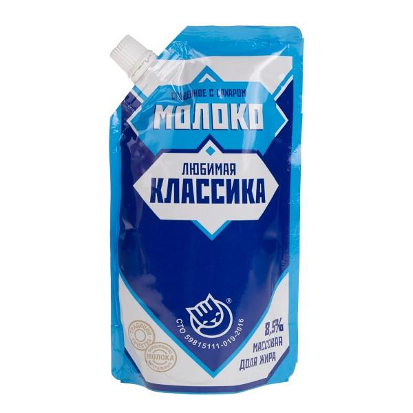 Молоко сгущеное Любимая классика 270гр БЗМЖ