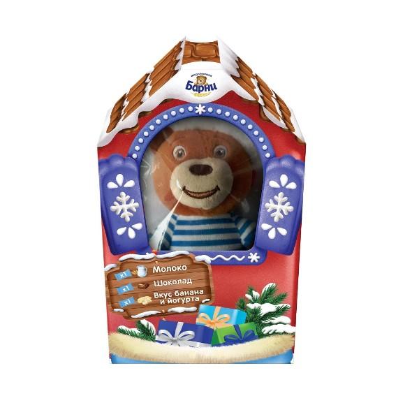 Пирожное Медвежонок Барни с игрушкой 90г