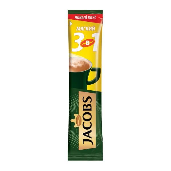Напиток кофейный растворимый Jacobs 3в1 12гр мягкий