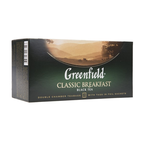 Чай черный Greenfield Classic Breakfast 25пак