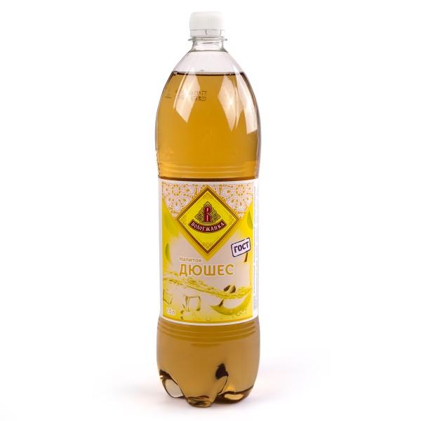 Напиток сильногазированный Дюшес Вологжанка 1,5л