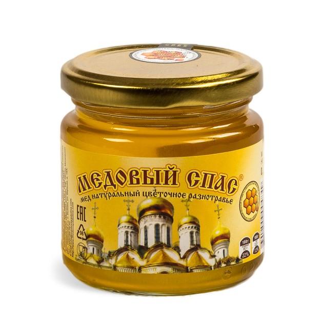 Мед натуральный Медовый спас 250гр