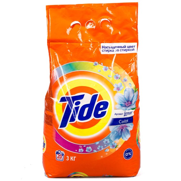 Порошок стиральный Tide Аква-пудра автомат 3кг lenor color