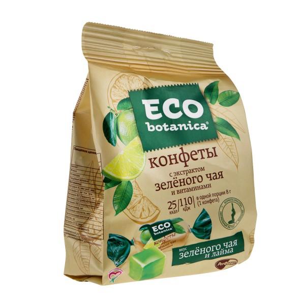 Конфеты Eco botanica РотФронт 200гр с экстрактом зеленого чая и витаминами