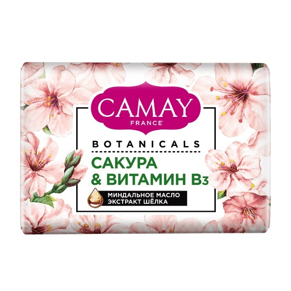 Мыло туалетное Camay botanicals 85г японская сакура