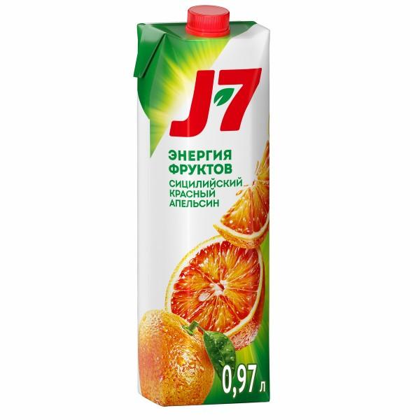 Нектар J-7 0,97л сицилийсий красный апельсин