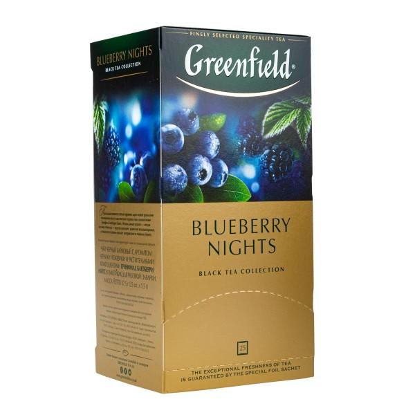 Чай черный Greenfield Nights Forest 25пак