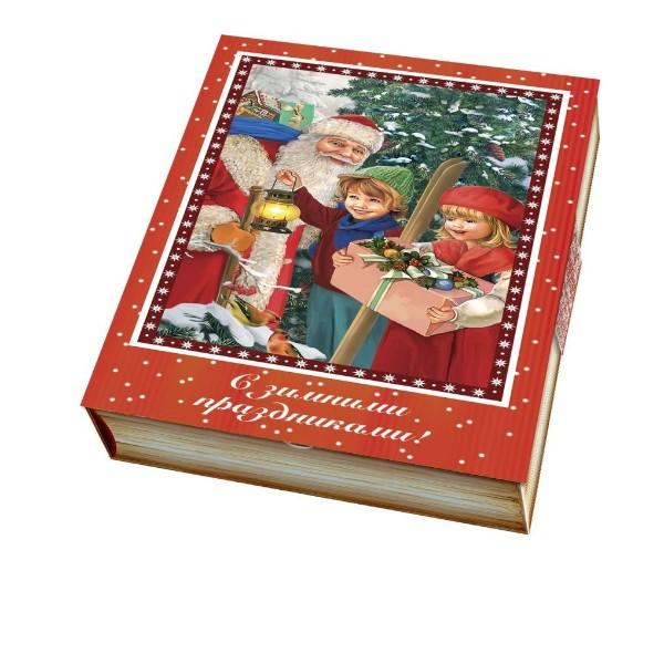 Подарок новогодний Книга новогодних загадок 400г