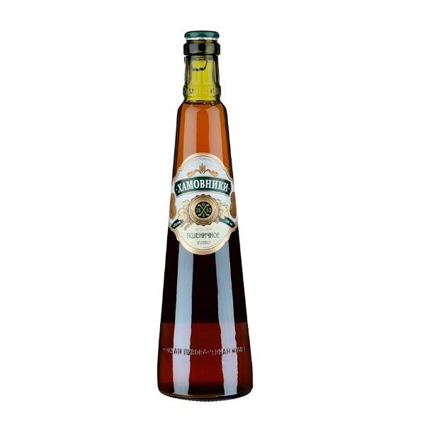 Пиво светлое пшеничное 4,8% Хамовники 0,45л