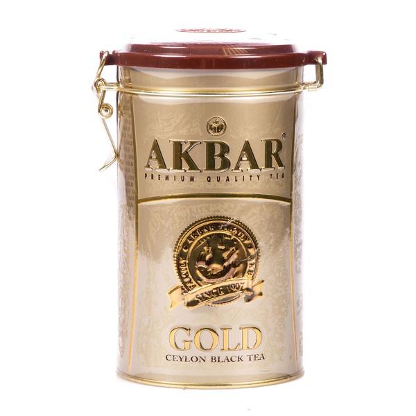 Чай черный Akbar Gold среднелистовой 225гр