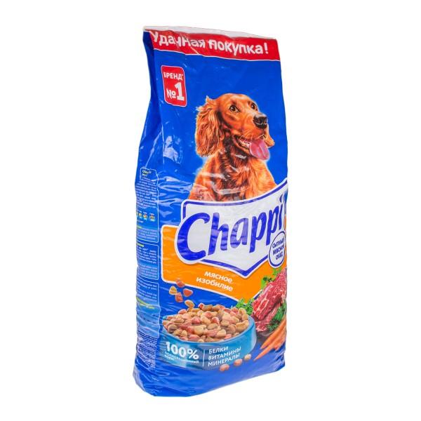 Корм Chappi 15кг для собак мясное изобилие