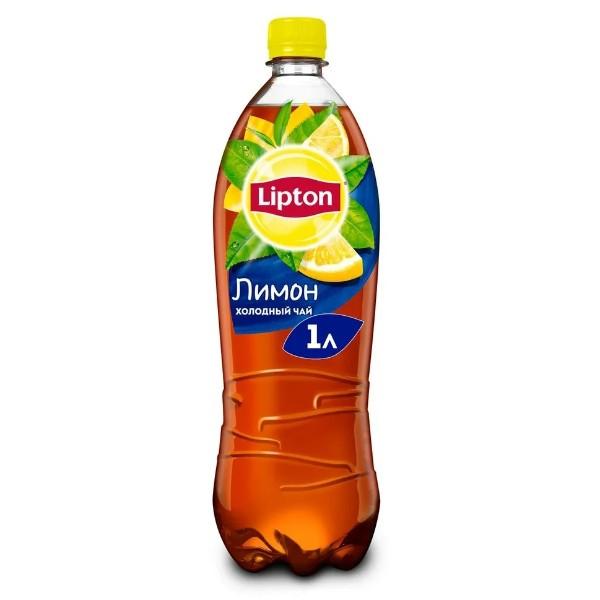 Напиток чайный Lipton черный 1л лимон