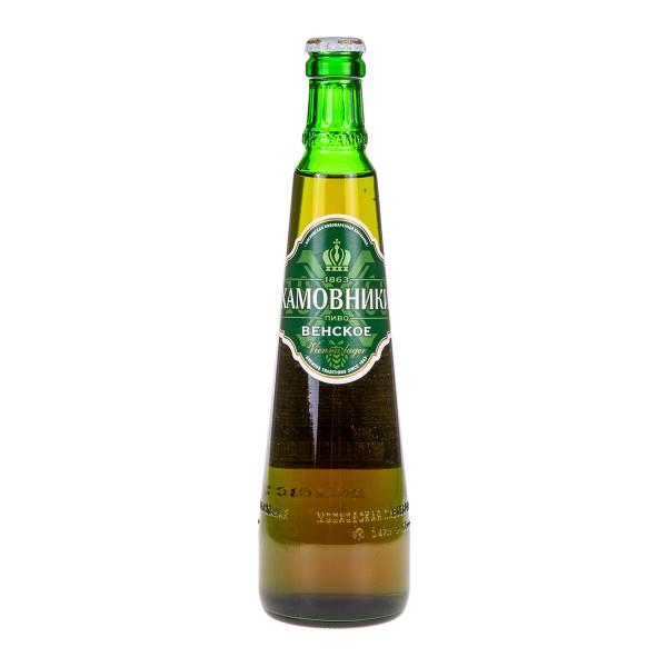 Пиво Хамовники Венское светлое 4,5% 0,47л