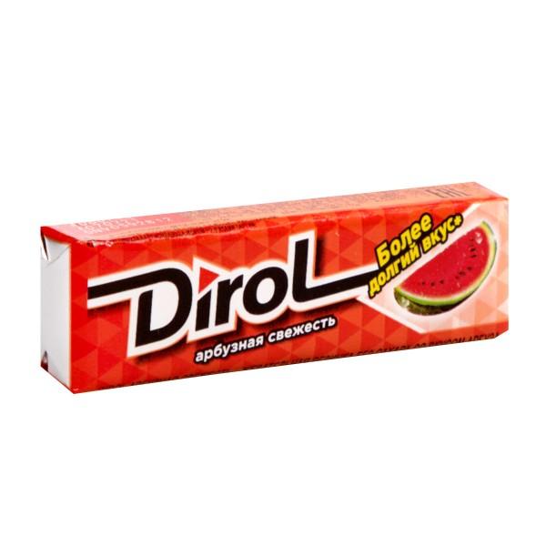 Жевательная резинка Dirol 13,6гр арбузная свежесть