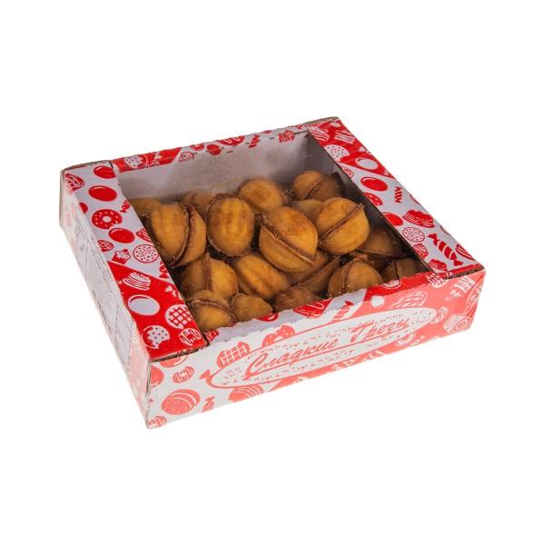 Печенье Орешки со сгущенкой Сладкие грезы 500г