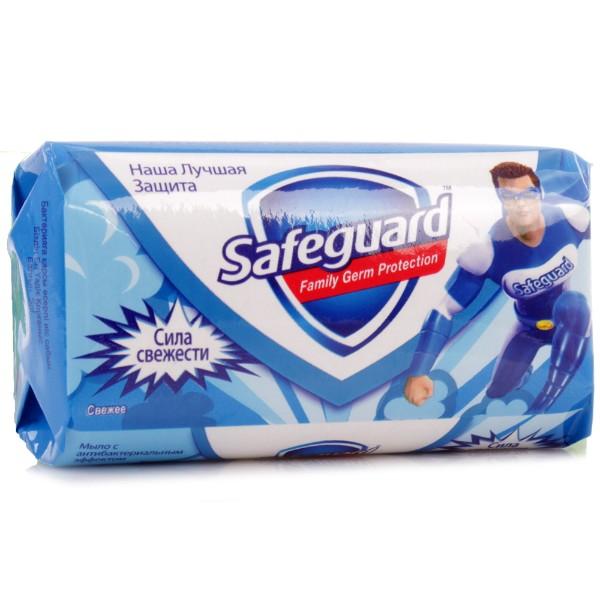 Мыло туалетное Safeguard 90гр сила свежести