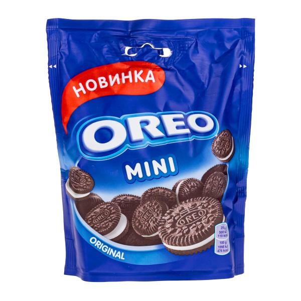 Печенье Oreo Mini 100г с какао и ванильным вкусом
