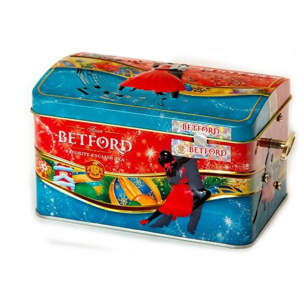 Чай Betford Разноцветное танго музыкальный сундучок 100г