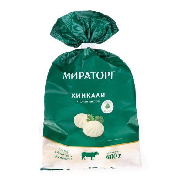 Хинкали по-грузински Мираторг 800г
