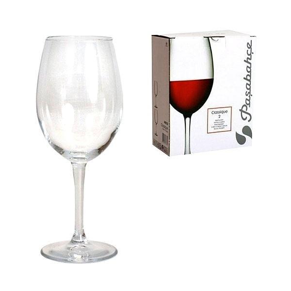 Набор бокалов для вина Classique Pasabahce 630мл 2шт
