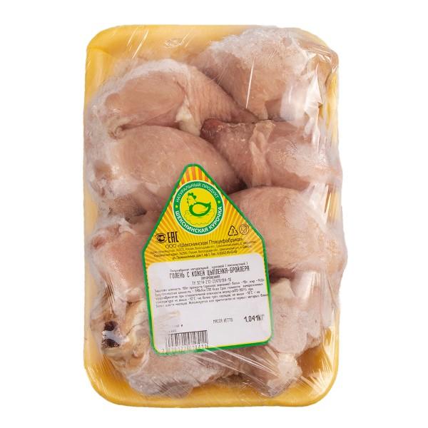Голень с кожей цыпленка-бройлера замороженная Шекснинская курочка