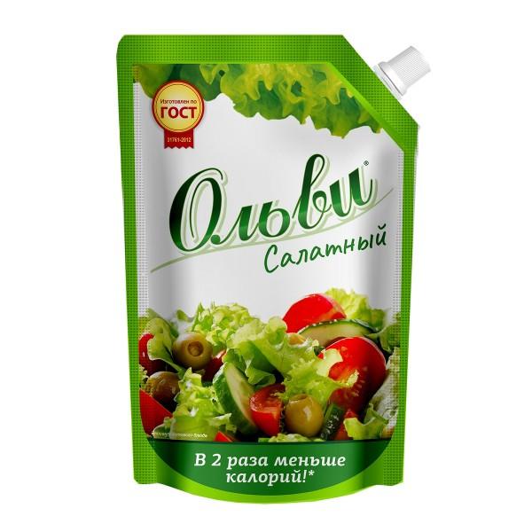 Соус майонезный салатный Здрава Ольви 30% 400гр