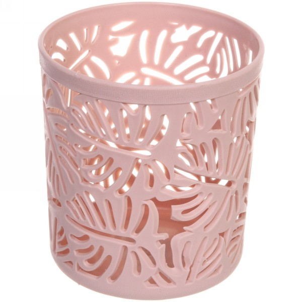 Корзина для мелочей Тропики розовая