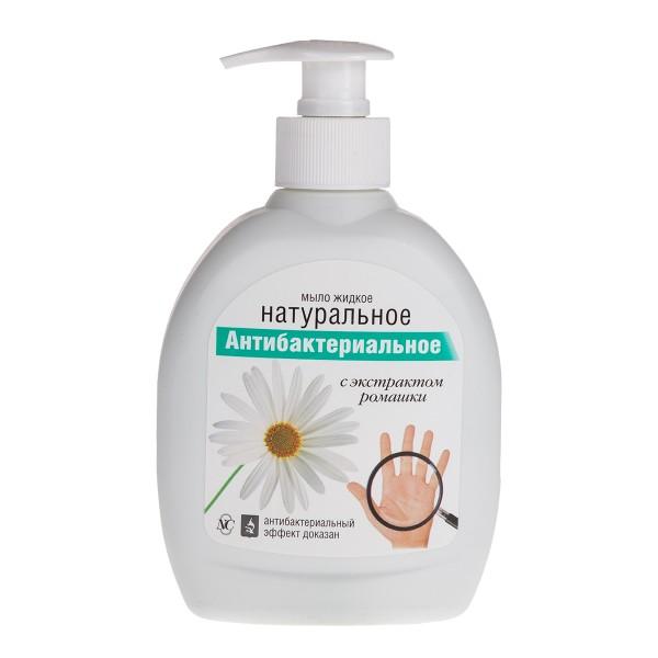 Мыло жидкое Натуральное Невская косметика 300мл антибактериальное