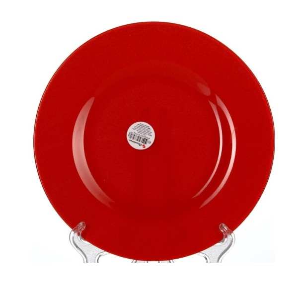 Тарелка обеденная Red Village Pasabahce 26см