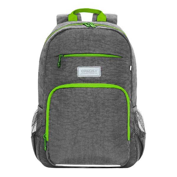 Рюкзак школьный Grizzly 25х40х13см