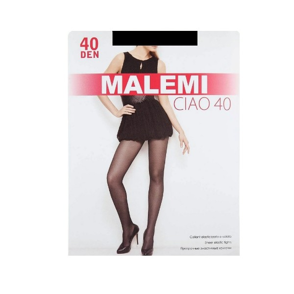 Колготки Ciao Malemi 40den nero 2