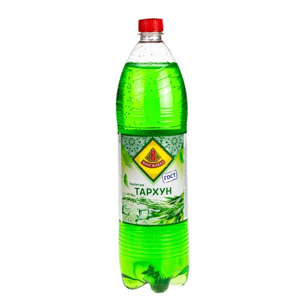 Напиток сильногазированный Тархун Вологжанка 1,5л