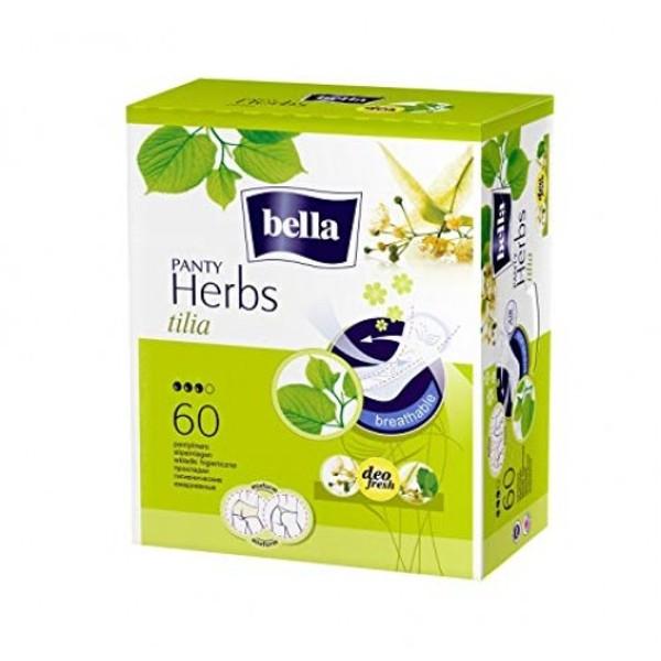 Прокладки ежедневные Bella Panty Herbs Tilia Липовый цвет 60шт